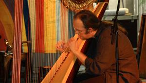 Jazz Harp and Chinese Erhu