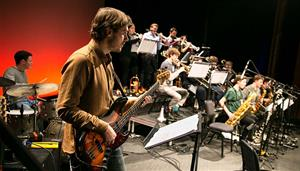 Rhythmic Skills Ensemble and Jazz Composers' Big Band